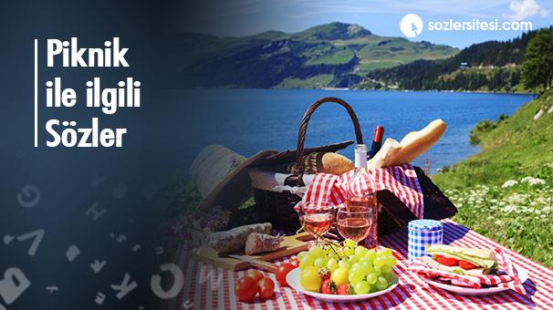 Piknik ile ilgili Sözler