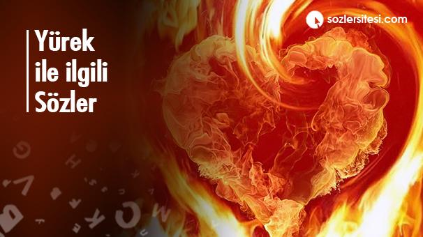 Yürek ile ilgili Sözler